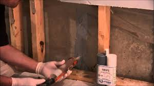 stop basement seepage with polgem polyfoam 1 c youtube