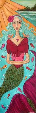 painting artwork on wood best 25 mermaid paintings ideas on paintings of