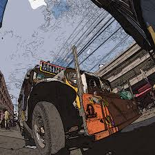 jeepney philippines art philippines 1292 jeepney painting by rolf bertram