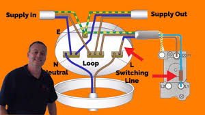 3 plate loop in method connections explained for wiring a domestic
