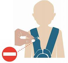 si e auto enfants sièges auto en hiver les dangers de garder manteau
