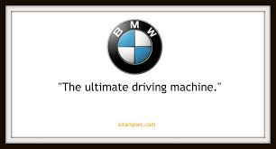 tagline of bmw 110 company taglines and slogans and how to one that