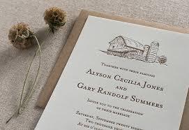 barn wedding invitations barn wedding invitations inspiration by steel petal press