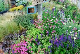 nesting materials insect houses plant flower stock