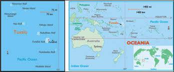 map of tuvalu tuvalu map travelquaz