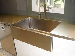 stainless steel countertop with sink unbelievable stainless steel sinks brooks custom pic for countertops