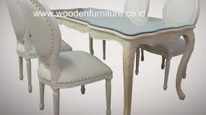 Shabby Chic Dining Table And Chairs Style Dining Table Shabby Chic Painted In Chalk 12
