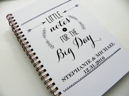 Personalized Wedding Planner Wedding Notebook Little Notes For The Big Day Wedding Planning