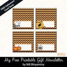 free printable table tents printable place cards food tents