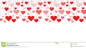 valentines banner banner of a garland of hearts background s day wedding