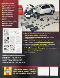 amazon com haynes repair manual covering gmc acadia 2007 2013