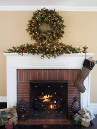 orchard harvest christmas mantel swag balsam hill