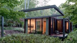 A Framed Houses by Allied Works Architecture Dutchess County Residence U2014guest House