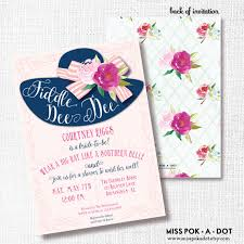 bridal tea party invitation wording wear a hat bridal shower invitation printable southern