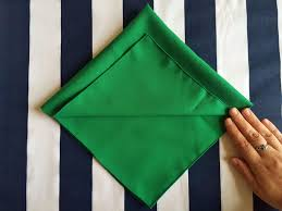 how to create a christmas tree napkin eat sleep colour
