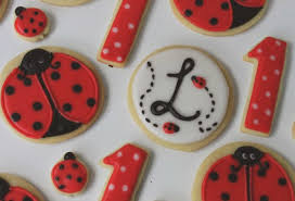 ladybug cookies diary of a cookie cutter