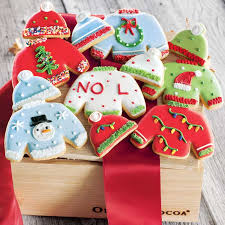 sweater cookies sweater frosted cookies all gifts olive cocoa