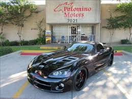 dodge viper for sale dallas dodge viper for sale in dallas tx carsforsale com