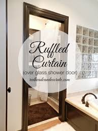 Shower Curtain Vs Shower Door Shower Door Or Curtain Irvine 36 X 67 White Folding Shower Doors