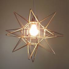 Unique Light Fixtures by Best Moravian Star Light Fixture All Home Decorations