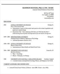 Social Work Resume Templates Free Usc Resume Template Usc Resume Format Resume Format Beverly B
