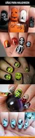 274 best halloween nails images on pinterest halloween nail art