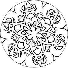 coloring pages simple designs coloring