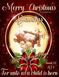 merry blessings for unto us a child is born pictures