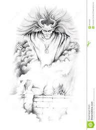 sketch of tattoo art jesus christ stock photography image