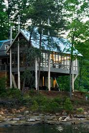wooden house plans stunning piling house plans to be amazed by decohoms