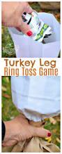 stuff to make for thanksgiving turkey leg ring toss thanksgiving game for kids and family