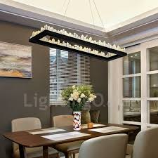 Living Room To Dining Room Newest Design Rectangle Pendant Lights Bar Living Room
