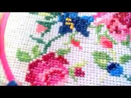 how to do cross stitch