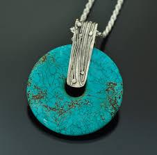 round turquoise necklace images Turquoise jasper garnets seraphinite pendants jpg