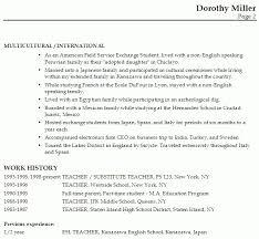esl teacher resume sample best resume collection