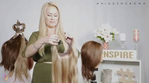 hair extensions for crown area how to fit your hidden crown hair extensions on someone else s