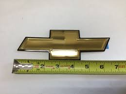 buy a new genuine gm 2006 2009 chevrolet equinox gold bow tie