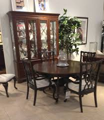 wood dining room furniture sets within thomasville thomasville thomasville furniture tate street dining set with round table 4 throughout room sets