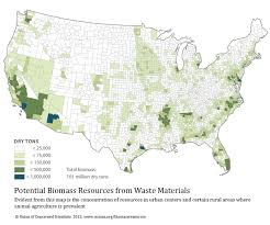 Dry Counties In Usa Map by Biomass Resources In The United States 2012 Union Of Concerned