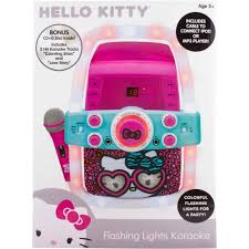 Hello Kitty Christmas Lights by Frozen Princess Hello Kitty U0026 The Voice Flashing Bar Karaoke