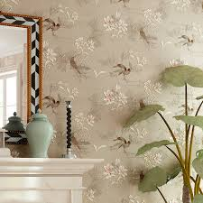 wallpaper livingroom american style rustic wallpaper non woven vintage floral 4d wall