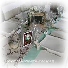 mariage voyage chemin de table en coton pour mariage thème voyage chic et naturel
