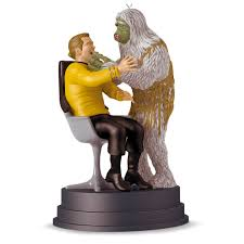 trek the trap kirk and salt ornament with