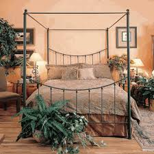 Iron Canopy Bed Frame Wrought Iron Canopy Beds