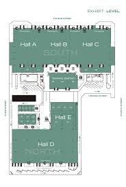 Exhibit Floor Plan Moscone Center Floor Plans Ascb
