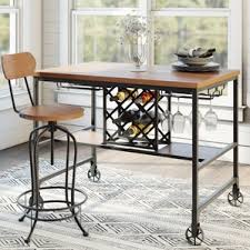 counter height rectangular kitchen u0026 dining tables you u0027ll love