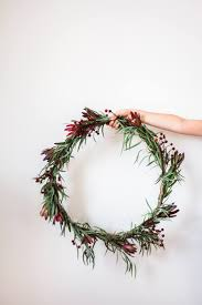 eucalyptus christmas wreath 12 easy diy christmas wreath ideas