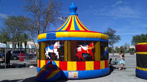 bounce house rental miami carousel cinnamonstixx party rentals miami bounce house rental