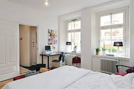 Ikea Modern Bedroom White Apartment Studio Design Ideas Ikea Bedroom White Walls Decorating