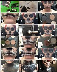 Halloween Skull Face Makeup by Halloween How To Skull Make Up Tutorial Career Modern Salon